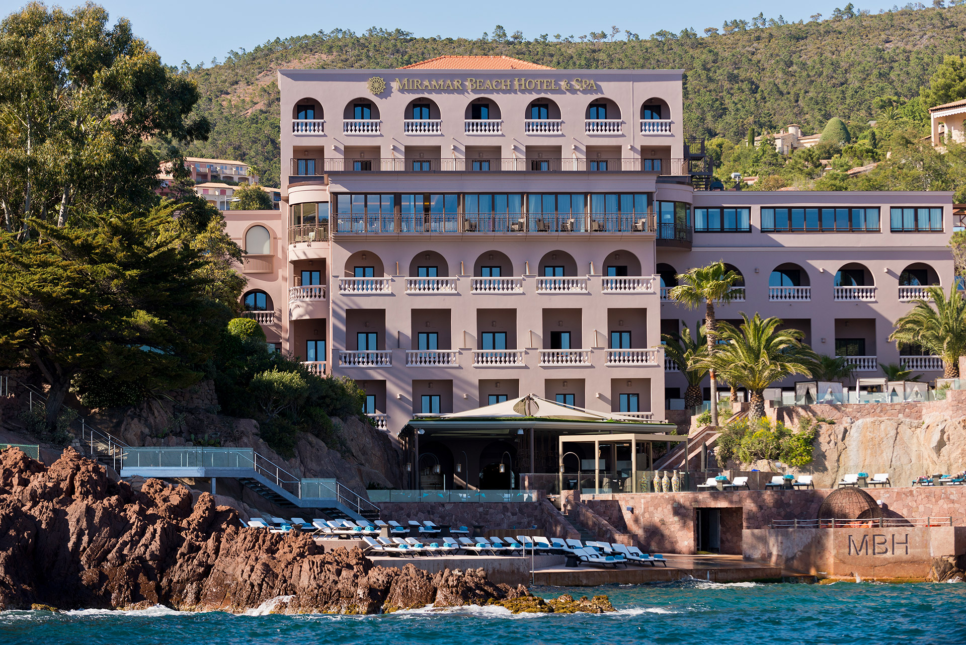 Miramar Beach Hôtel & Spa - Cannes Lion
